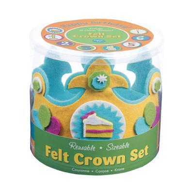 Happy Birthday! Felt Crown Set By Rothman, Julia (ILT)